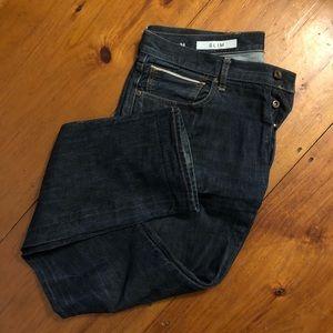 Gap 1969 Slim Jeans - Selvage - Men's 36W/34L